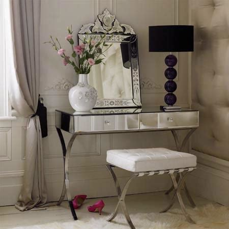 mirrored bedroom vanity table barcelona vanity table french bedroom