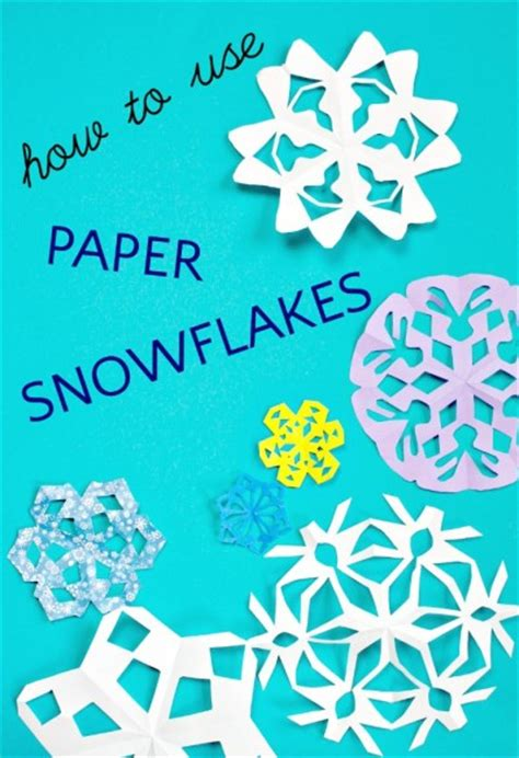 What Can U Make With Paper - what to do with paper snowflakes