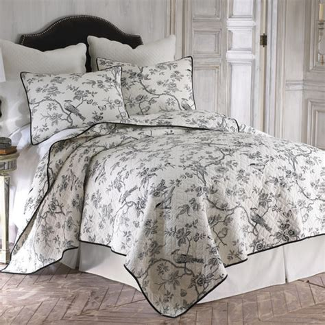 levtex home toile quilt set reviews wayfair