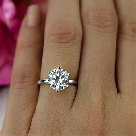 Best 25  Round solitaire rings ideas on Pinterest