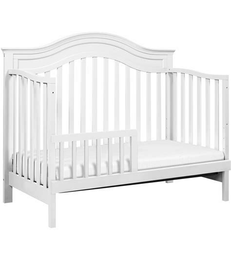 Davinci Brook 4 In 1 Convertible Crib With Toddler Bed White 4 In 1 Convertible Crib