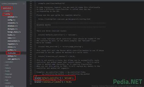 codeigniter tutorial routes tutorial install codeigniter untuk pemula tutorialpedia