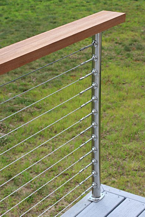 Stainless Steel Deck Railing by Deck Railing Photo Gallery Stainless Steel Cable Railing