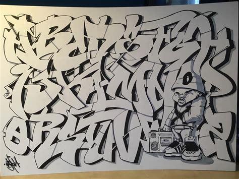 letters  style  graffiti alphabet bombing science