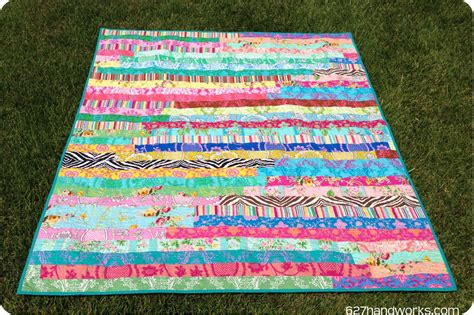 How to Make a Jelly Roll Quilt: 9 Jelly Roll Quilt