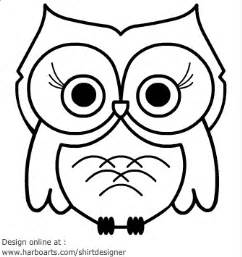 Owl Outlines Drawings by Owl Outline Clip Cliparts Co