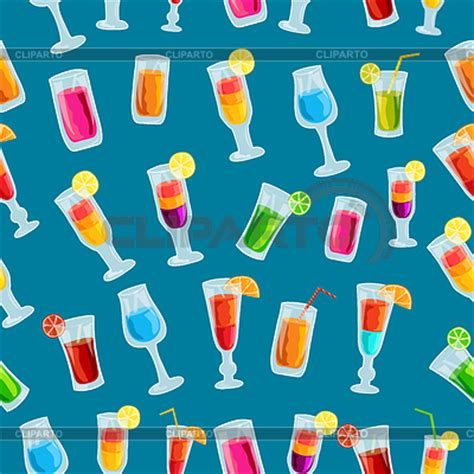 seamless pattern template drinks stock photos and vektor eps clipart cliparto