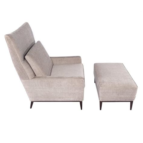 wingback chairs with ottoman paul mccobb wingback chair and ottoman at 1stdibs