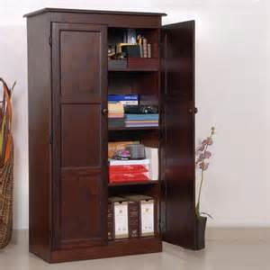 Wood Kitchen Storage Cabinets Concepts In Wood Multi Purpose Storage Cabinet Pantry Cherry At Hayneedle