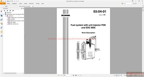 scania truck workshop manual technical information cd