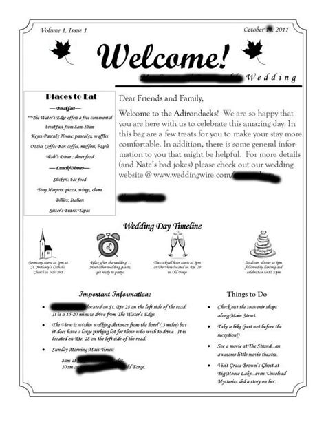 Welcome Letter Welcome Letter For Out Of Town Guests Wedding Wedding Welcome Bags And Timeline