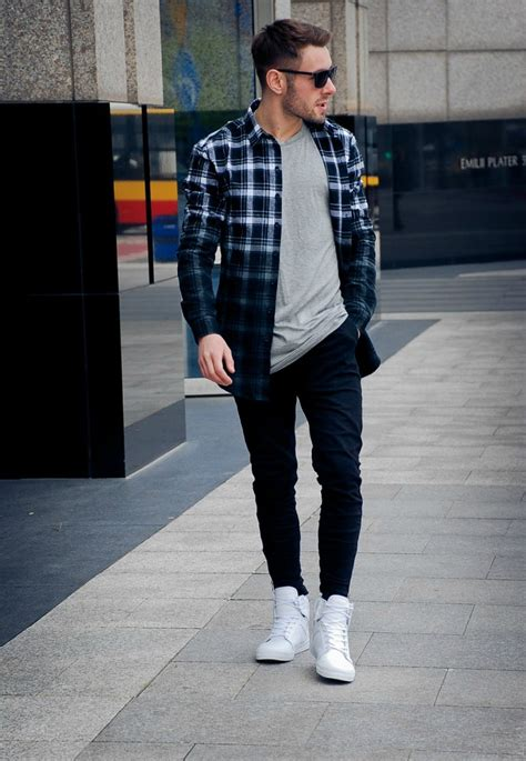 how to wear a flannel shirt for the idle