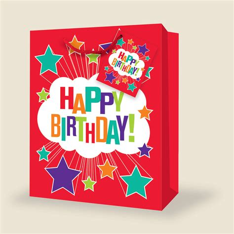 A Birthday And A Discount From Butler Bag by Wholesale Large Birthday Gift Bags