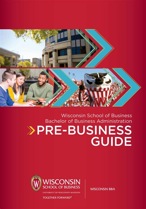 Wisconsin Mba Student Profiles by Bba Pre Business Guide By Of Wisconsin