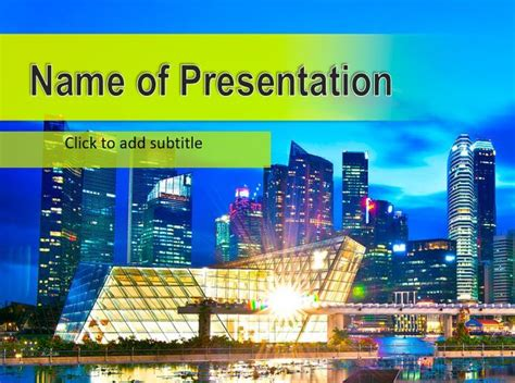 Hong Kong Powerpoint Template Free Powerpoint Templates Hong Kong Powerpoint Template