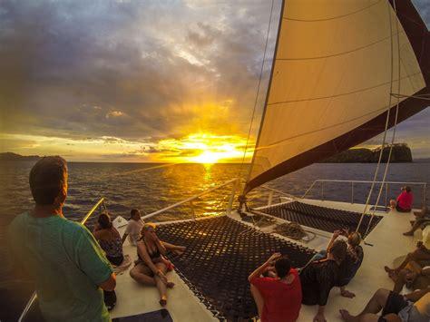 catamaran boat tour catamaran sailing tour costa rica best trips