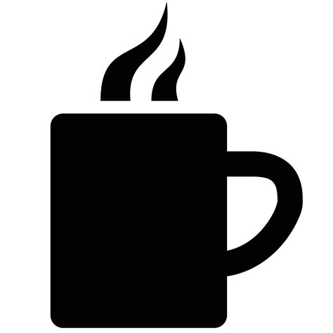 coffee cup silhouette png coffee icon coffee drinker