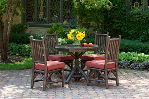 milwaukee patio furniture rustic dining chair 1204 custom rustic table la lune patio