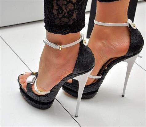 high heels black and white awesome black and white high heels fashion addict winter