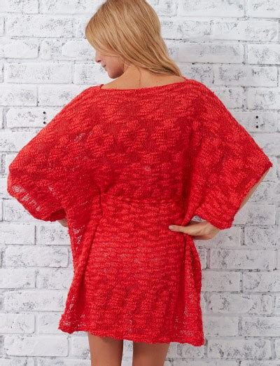 pattern beach cover up free patons beach cover up free knitting pattern knitting bee