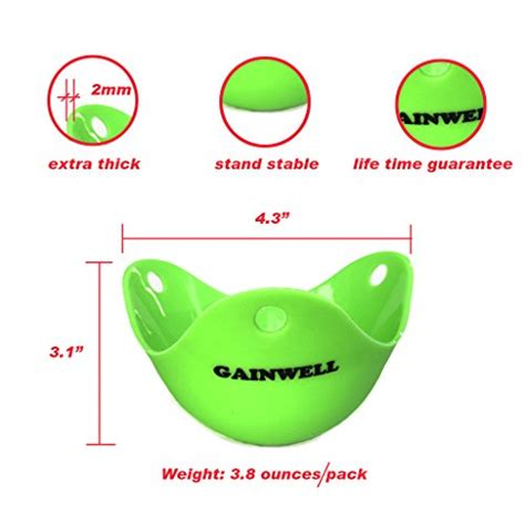 Thick Silicone Mold Motif 3 Peri Software Small Box 3 gainwell silicone egg poacher set of 4pcs cooking poached eggs green thick