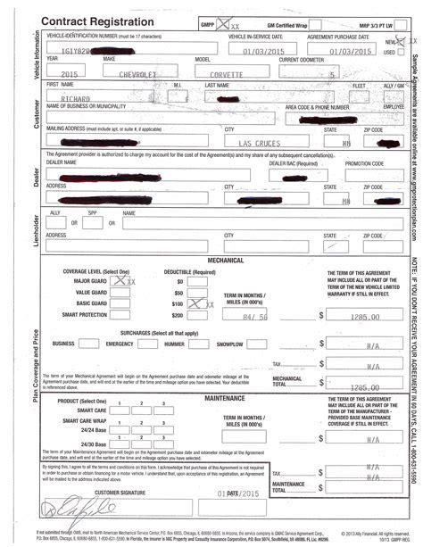 gmepp extended warranty discounts on extended warranties page 3 corvetteforum