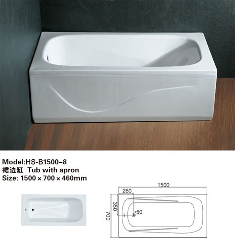 bathtub with apron bathtub with apron hs b1500 8
