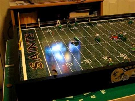 electronic table football electric football board