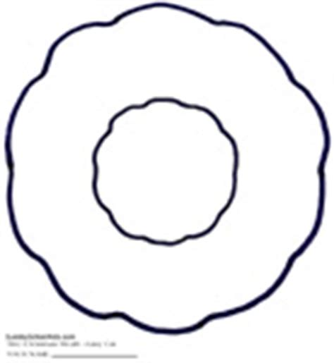 wreath template printable best photos of wreath cut out template wreath