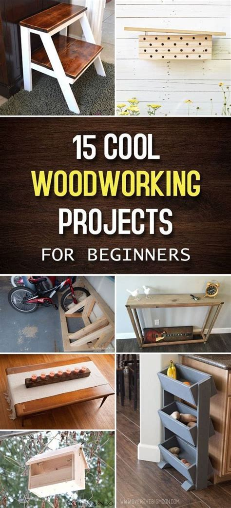 cool woodworking projects  beginners