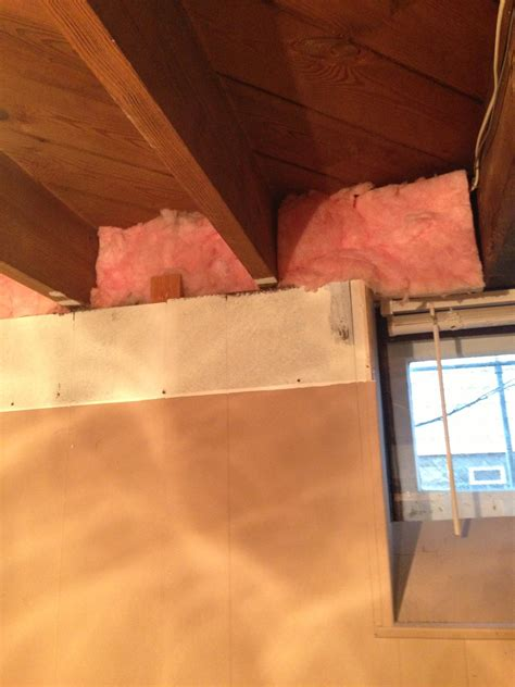 Insulating A Basement Ceiling by What Should I Do With Insulation In Basement Ceiling Home Improvement Stack Exchange