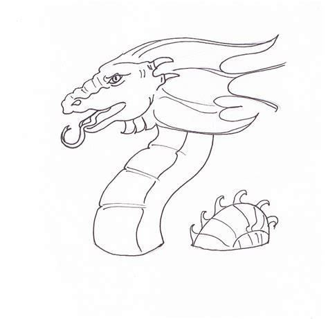 simple dragon coloring page cool dragon easy coloring pages