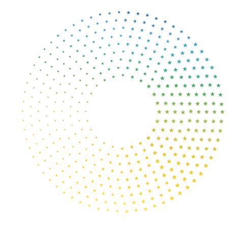 circular pattern in ai shapes create dotted circles in illustrator graphic