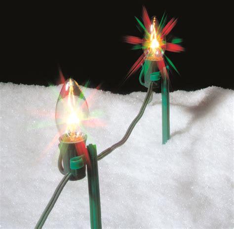 8 quot yard stake light holder 25 pack string lights