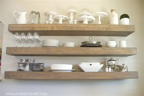 How To Build Floating Bookshelves Simple And Trendy 13 Diy Floating Shelves