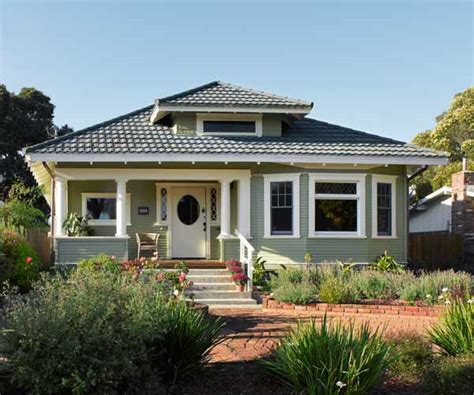 Home Design Restoration California by Craftsman Bungalow Exterior Color Schemes Joy Studio