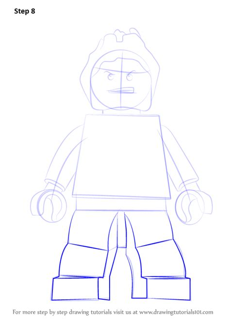 tutorial lego avengers learn how to draw lego hulkling lego step by step
