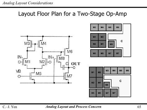 layout design in cmos pdf op amp layout bing images