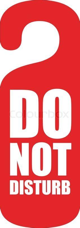 Home Decor Shop Online by Do Not Disturb Vector Colourbox