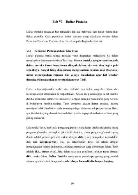 pernyataan tesis adalah pedoman tesis magister nsn sps 15 april2016