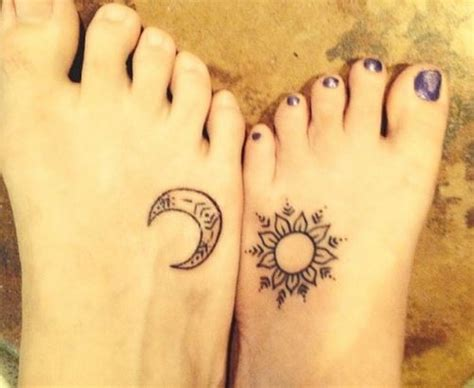 imagenes del sol y la luna para tatuar de 70 tatuajes para parejas que os enamorar 225 n 161 ideas
