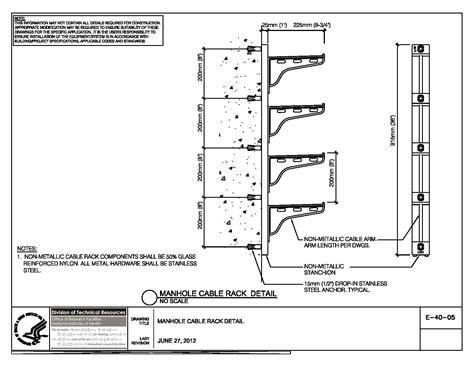wire details nih standard cad details