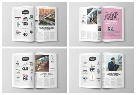 50 Customizable Annual Report Design Templates Exles Tips Venngage Government Annual Report Template