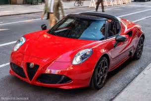 Alfa Romeo 4c Alfa Romeo 4c Spider Review Photos Business Insider