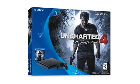 Ps4 Slim Skin Uncharted 4 ps4 slim with uncharted 4 groupon goods
