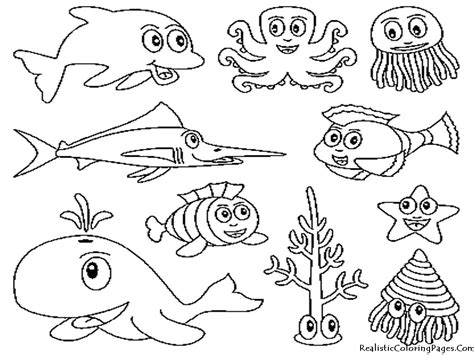 coloring book lost animales mar para colorear rincon util