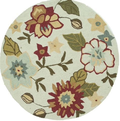 Floral Chair Pad Kode Ss9603 loloi summerton country floral area rug collection