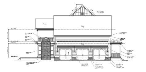 elevation floor plan elevations and floor plans new design