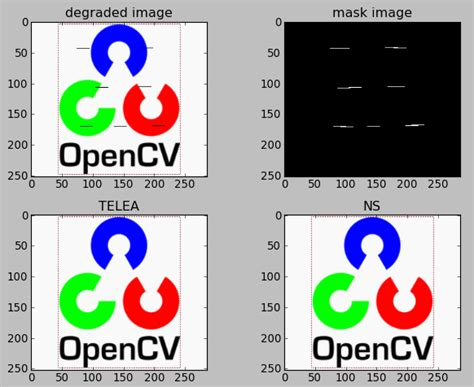 opencv 3 x with python by exle second edition make the most of opencv and python to build applications for object recognition and augmented reality books opencv 3 image reconstruction inpainting interpolation