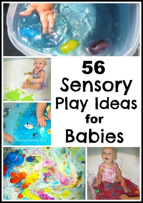 56 sensory play activites for babies great ideas for even